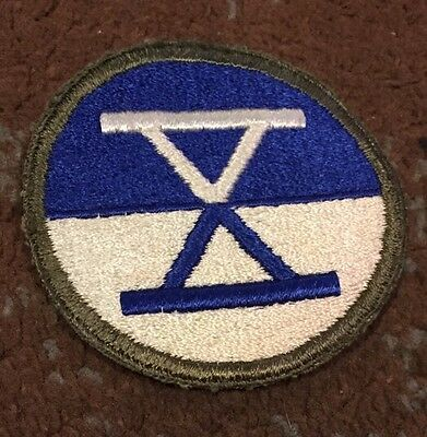 Us eighth army wwii patches