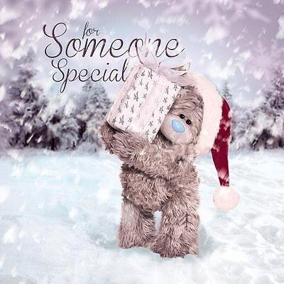 3D Holographic Someone Special Me to You Bear Christmas Card - Tatty Teddy