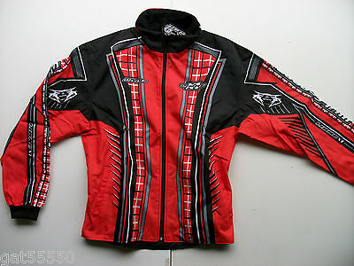 New Wulfsport Sz L Enduro Trials Motocross Jacket Red Xr Cr Crf Gasgas Montesa