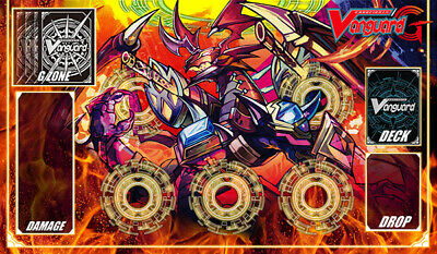 F399# FREE MAT BAG Overlord The Legend Cardfight Vanguard G Playmat Circles
