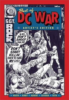 BEST OF DC WAR ARTISTS EDITION HARDCOVER *New Boxed Sealed*