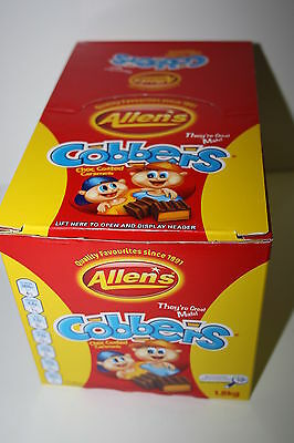 Allens Cobbers Chocolate Coated Caramels 1.8kg box