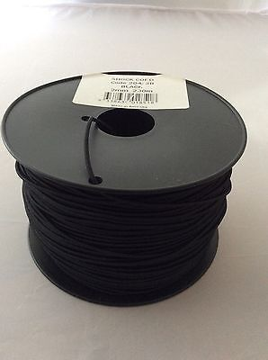 Shock Cord – Bungee Cord 2mm x 10m High Tenacity Polyester Covered Rubber Cord.