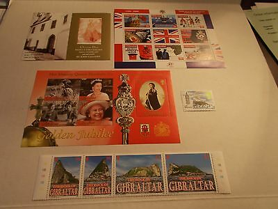 Gibralter Stamp Collection 19 Mint Stamps