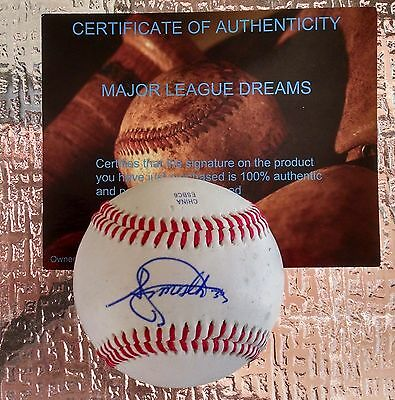 Baseball-mlb Balls Signed Angels Braves Top Prospect Kyle Kubitza Sweetspot Baseball Proof Coa!!!
