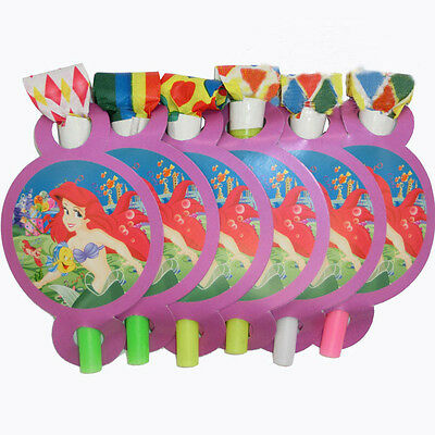 12 Little Mermaid Ariel Disney Birthday Party Supply Fillers Game Gift Blowouts