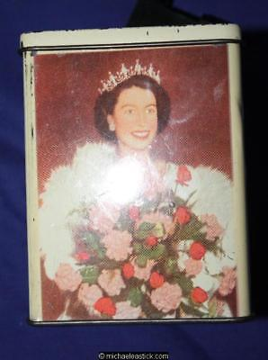 Bester's Sweets 1950's Queen Elizabeth and Prince Charles Money Box