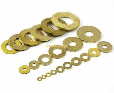 40 Pieces M12 x 18 x 1.5mm Copper Flat Washer Seal Washer