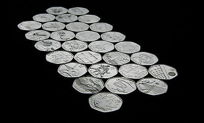 London Olympic 2012 50p coins Uncirculated UNC for Great Coin Hunt Team GB