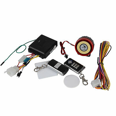 12V Durable 500m Remote Control Motorcycle One-way Anti-theft Alarm System #