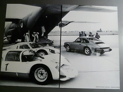 Porsche 904, 906 Showroom Advertising Sales 2 Poster Set RARE Awesome L@@K