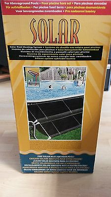 SOLAR Système chauffage solaire piscine hors sol *NEUF*