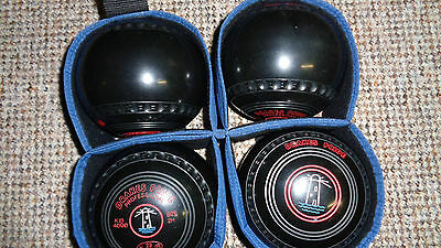 Drakes Pride Professional Bowls, Size 2H, 23 Stamp, Immaculate.