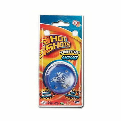 Light Up Yo Yo Kids Toy Trick Clutch Mechanism Speed Ball Auto Return Hot Shots