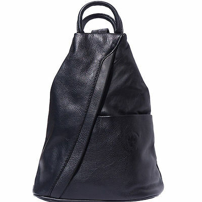 56abbb625e Backpack Purses Bag Italian Genuine Leather Hand made in Italy Florence  2061 bk