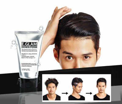 E.Glam Down Perm Men's Speedy Easy Self Magic Straight Side Perm 120ml