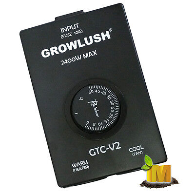 GROWLUSH Australia Cool & Warm Dual Thermal Controller Must have in Hydroponics!