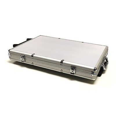 Brybelly GCAS-1000-R 1000 Count Aluminum Rolling Poker Chip Case