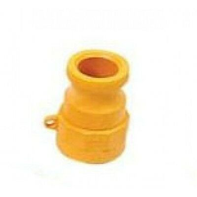 """1x 1 1/2"""" NYLON NYGLASS CAMLOCK FITTING - TYPE A (CAM-A 1 1/2"""") Irrigation"""