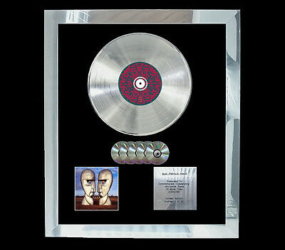 Pink Floyd Division Bell Multi (Gold) Cd Platinum Disc Free Shipping To U.k.