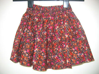 Baby Girls New Ex store Next Lined Skirt - Ages 9-12m 2-3y Ginger Ditsy Floral