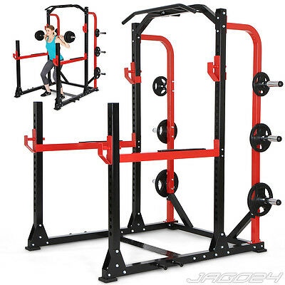 Multi Functional Rig Dip Station Home Gym Exercise Abs Body Workout Power Tower