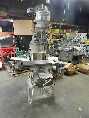 "Bridgeport Vertical Milling Machine 9"" x 32"" Table 1 HP"