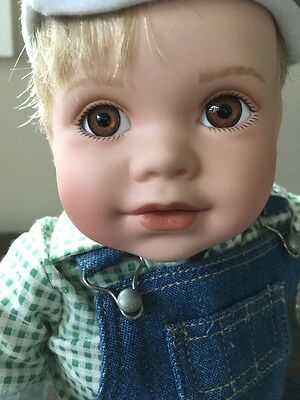 THE JOHN DEERE PORCELAIN DOLL COLLECTION by THE DANBURY MINT
