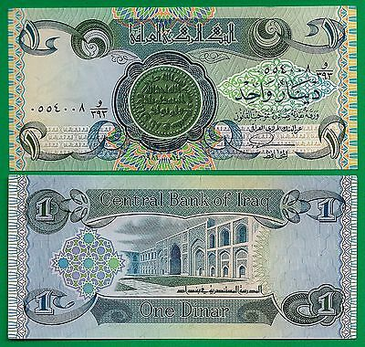 Iraq P-69 1 Dinar Year 1978 Coin Uncirculated Banknote Asia