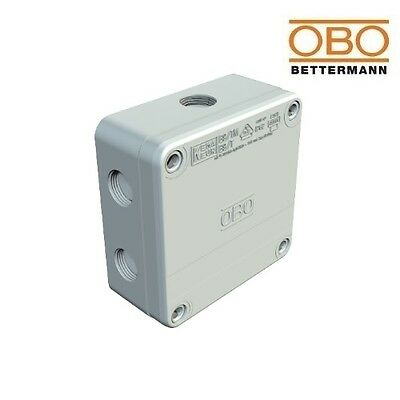 OBO Junction Box B9/T 110x110x51mm IP67 Grey With Puncture Membrane 2001845