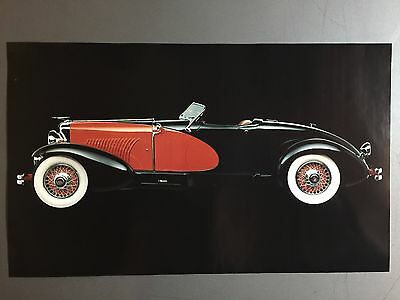 1931 Duesenberg J Roadster Picture, Print, Poster RARE!! Awesome L@@K