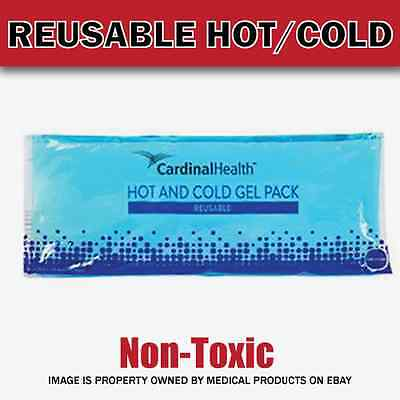 Reusable Flexible Comfort Gel Ice Pack Hot & Cold Compress NonToxic - 4x10