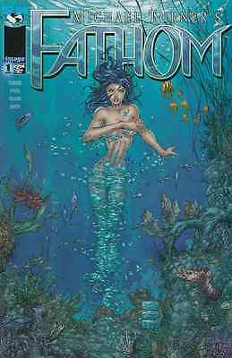 Michael Turner's Fathom #1 Cover C Near Mint 1998 Top Cow Image