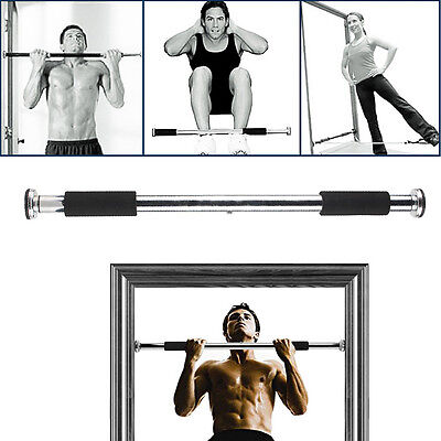 Adjustable Home Door Chin Up Gym Bar Pull Up Bars Exercise Workout Trainning