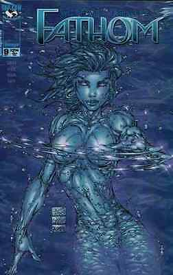 Michael Turner's Fathom #9 Cover A Near Mint 1998 Top Cow Image