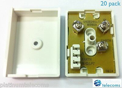 20 Bt 80A Junction Boxes For Telephone Cable Bt80A Joblot Trade Pack