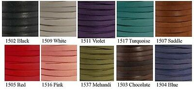Deertan Lace on Spool, Leathercraft,Arts & Craft *