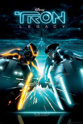 Tron Movie Cover POSTER (61x91cm) Picture Print New Art