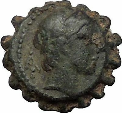 ALEXANDER I BALAS 152BC Seleukid Apollo RARE R2 Ancient Greek Coin i56506