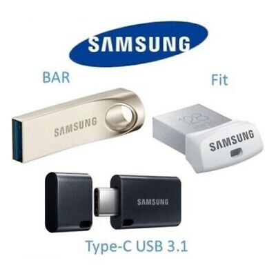 Samsung FIT BAR DUO 16GB 32GB 64GB USB Flash Drive 3.0 130MB/s Memory Stick *AU*