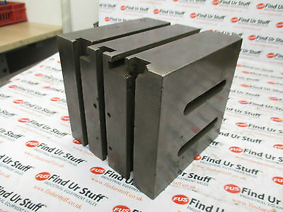 T-Slot Angle Plate / T-Slot Cube 150 x 150 x 145mm - Used