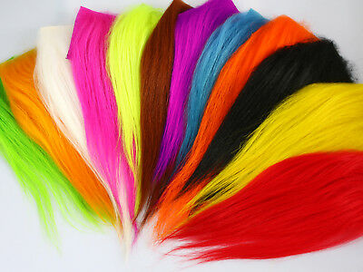 Fly Tying Material Cashmere Goat Hair For Sunray Shadow Tube Flies Dog Fly  C302