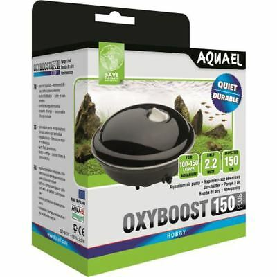 Aquael Oxyboost 150 Plus - Aquarium Marine Tropical Coldwater Air Pump