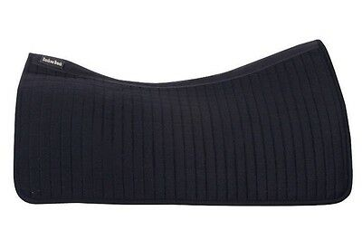 Back on Track Therapeutic Western Saddle Pad - Black - One Size - #22088