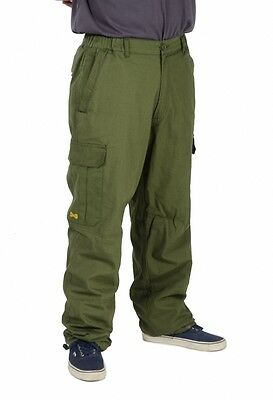 Navitas Apparel NEW Lined Combat Cargo Green Fishing Pants SALE *All Sizes*