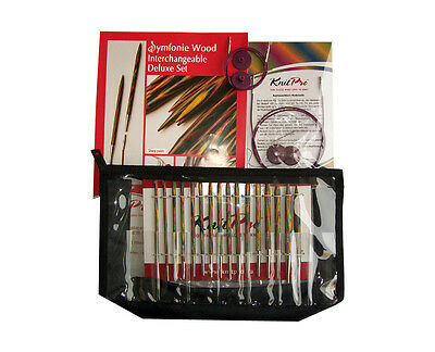 Knit Pro Symfonie Wood Interchangeable Deluxe Set