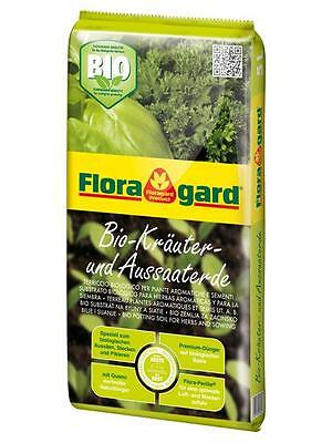 Floragard Organic Herbal Sowing Soil 5 Liter