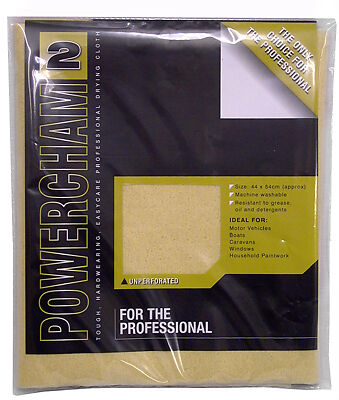 Chamois Leather Powercham 2 Synthetic Pro Grade Leather