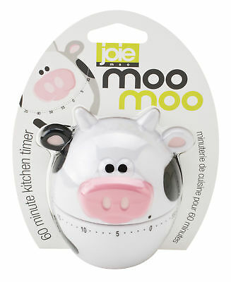 Harold Joie Moo Moo 60 Minute Plastic Cow Mechanical Kitchen Egg Cooking Timer