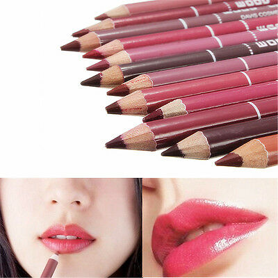 28 Colors Cosmetic Lip Liner Lipliner Pen Pencil Fashion Makeup Waterproof Hot